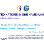 What Do You Know about European Countries? (Hüseyin Gazi Secondary School)